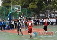 新邵一中舉行班級籃球賽