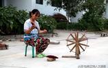 """上世紀90年代農村手工""""織棉子""""組圖,濃濃的鄉愁和回憶"""