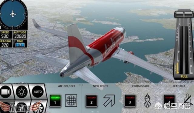 請問能在手機玩的模擬飛行遊戲(除了x plane極限著陸還有無限試飛外)還有哪些?