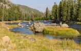 黃石國家公園 世界上第一個最大的國家公園