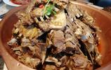 週末,六個人吃了一大鍋美味的羊排羊蠍子