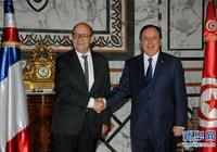 突尼斯外長與法國外長舉行會談