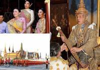 41歲泰國王后穿黑皮衣,和瑪哈國王打扮休閒,二人自駕跑車超霸氣