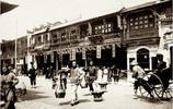 1903年清朝末年的上海街拍,圖四的高塔老上海人還認識是哪裡嗎?
