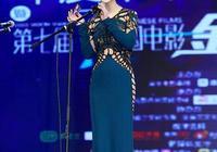 42歲田海蓉出席活動,一襲鏤空長裙成焦點,網友:陸毅什麼眼神