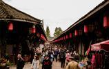 成都有個國家歷史文化名鎮,千年古鎮多美食,不收門票,遊人如織