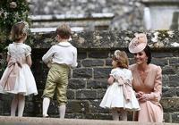 凱特王妃妹妹皮帕出嫁,喬治小王子踩到小姨婚紗被訓哭了