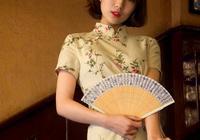 旗袍:扇美旗袍