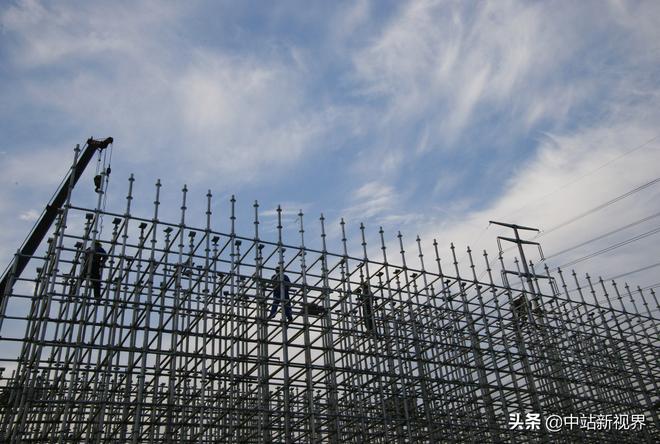 實拍建設中的太焦高鐵(焦作市中站區段)
