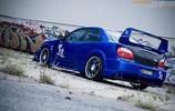 汽車圖集:斯巴魯汽車拉力賽