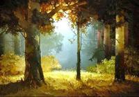 俄羅斯藝術家 Виктор Быков 維克托貝科夫的油畫