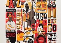 海報設計 · 爵士樂主題 I 設計之最