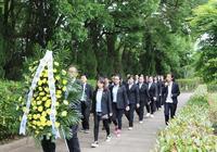 永修法院青年幹警參觀胡耀邦陵園