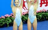 蔣氏姐妹奪得全運會花樣游泳冠軍