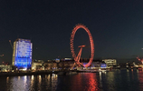 遊倫敦,在倫敦眼上觀看倫敦夜景