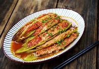 適合一家人一起吃的兩道家常菜,尖椒釀肉和乾煸花菜