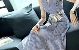 時尚美膩的連衣裙,優雅迷人又吸睛,走在哪裡都是一道亮眼的風景線