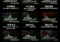 戰艦世界各系巡洋艦的特點是什麼?