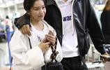 闞清子夫婦和陳翔一起現身機場 陳翔的表情亮了!