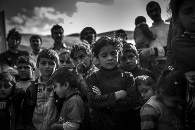 恐怖襲擊下難民的悲慘生活