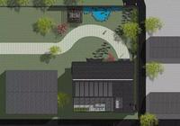 風水極佳的新中式別墅院落,平面佈局開闊,凸顯大家風範