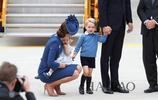 喬治王子麵見媒體,可愛又紳士!