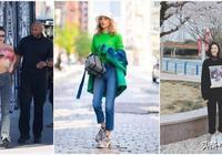 """今年春夏""""直筒褲""""火了,半個娛樂圈都在穿,巨顯腿長還時髦百搭"""