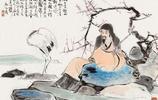梅妻鶴子美圖欣賞,林逋隱孤山,植梅為妻,養鶴為子