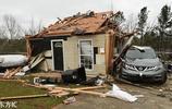 龍捲風襲擊美國阿拉巴馬州 房屋面目全非至少23人死亡