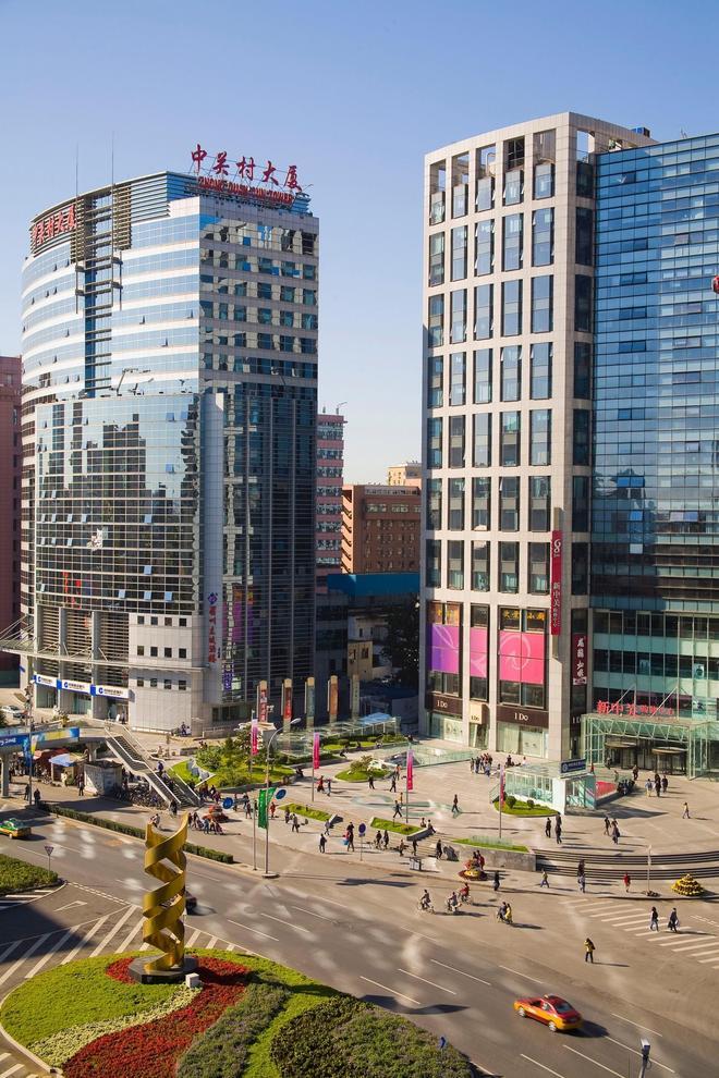 真實風景:北京中關村風景