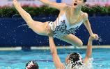 花樣游泳——四川隊獲得集體項目銅牌