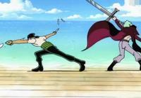 海賊王:背上的傷是劍士的恥辱為什麼會震撼到鷹眼?看他身體