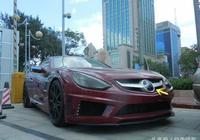 這是國產車嗎?看車標像國產漢騰,售價1200萬,中國只有7輛
