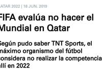 TNT:FIFA考慮剝奪卡塔爾世界盃主辦權