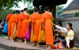老撾遊記 切身感受老撾佛教文化 一片虔誠 洗滌心靈