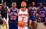 NBA尼克斯隊史最強陣容,安東尼大猩猩首發,馬布裡替補
