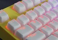 腹靈MKa104S魔晶版機械鍵盤拆解評測