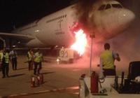 印尼客機連接GPU時起火