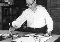 潘天壽:具有高深學問的藝術家,他的藝術品一定是出神入化的!
