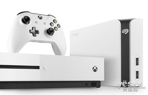 希捷發佈8TB外接硬盤:適配Xbox One X主機