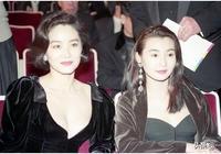 林青霞30年前穿貂大衣,左背香奈兒右挎LV,網友直呼:好有錢!