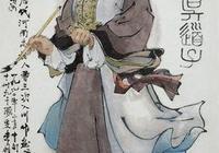 吳道子線描人物