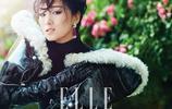 鞏俐為時尚雜誌ELLE拍攝的一組照片