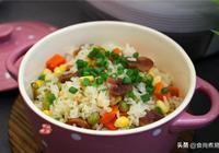 米飯這樣做,食材豐富健康低糖,快捷省事,老媽總也吃不膩