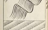 日本畫傳統海浪和波紋畫法