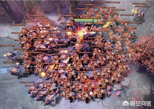 Dota中,假如有100個小兵,哪個英雄清兵最快?