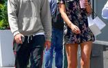 """""""小李子""""超模前女友攜新男友現身街頭,兩人並肩前行同框超養眼"""