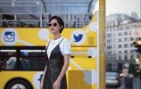 張儷在米蘭時裝週大片 彰顯儷子無限氣質