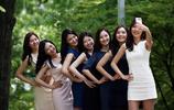 盤點各地最美的畢業照,姑娘們用驚豔的方式告別即將逝去的青春