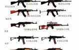 各種AK-47步槍和變種型號